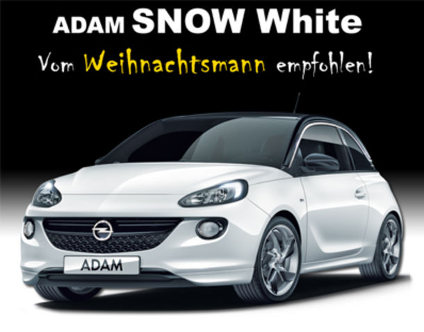 Opel ADAM SNOW WHITE@Gieraths