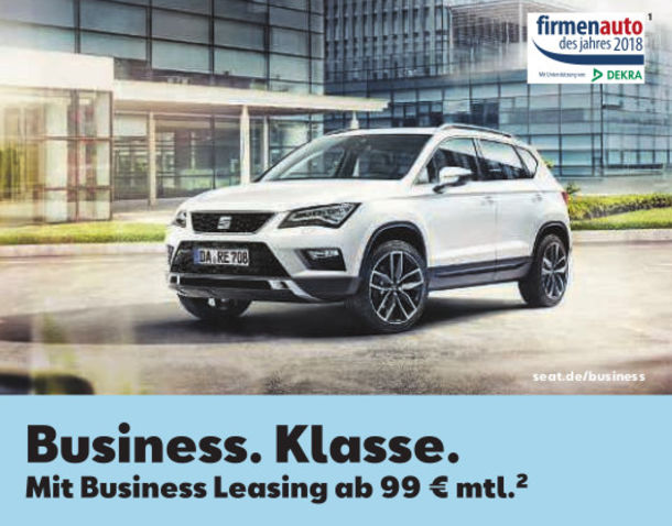 SEAT Ateca - Business Leasing ab 99,-€ monatl.